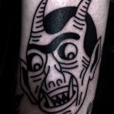 Tattoo Joris devil