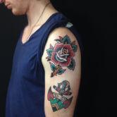 old school tattoo joris