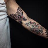 Tattoojoris butterfly tattoo