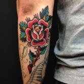 tattoojoris rose tattoo